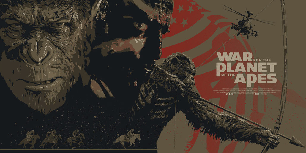 war for the planet of the apes the dark inker